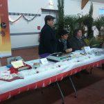 La truffe sur le marché de noël de Montmoreau-Saint-Cybard